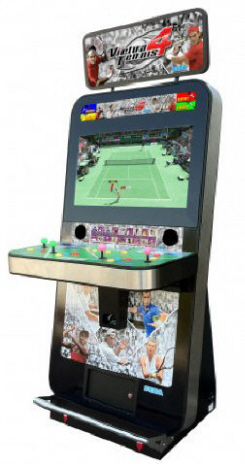 Virtua Tennis 4 - Virtual Tennis Video Arcade Game From SEGA