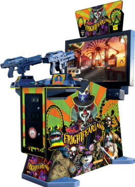 Shh...! Welcome To FrightFearLand / FrightMareLand / Haunted Mansion 2 II Video Arcade Game - Standard Model - Taito - Global VR