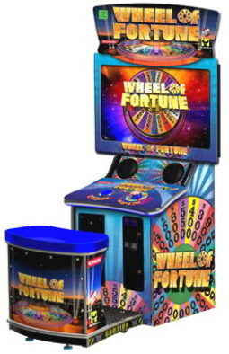 Wheel Of Fortune Mini Model Ticket Videmption Arcade Game From Raw Thrills ...