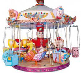 18 Seat Carrousel - 8211  |  From Falgas Amusement Rides