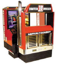 18 Wheeler : American Pro Trucker Deluxe Video Arcade Game