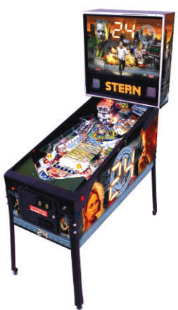 24 Pinball Machine From Stern Pinball
