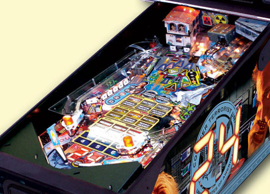 24 Pinball Machine | Playfield Picture 1 From BMI Gaming By Stern Pinball