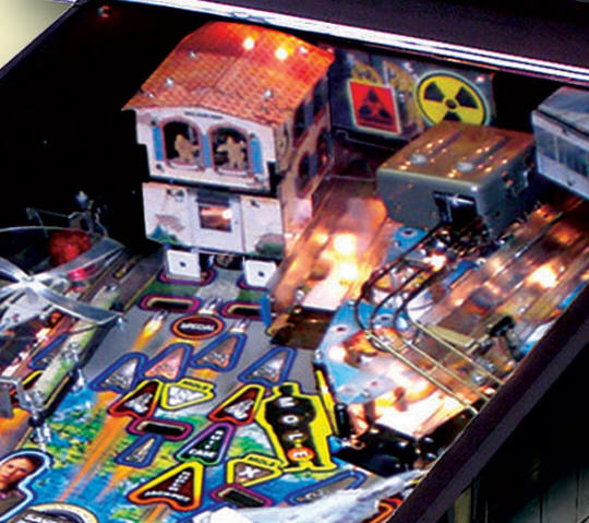 24 Pinball Machine | Playfield Picture 3 From BMI Gaming By Stern Pinball