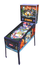24 Pinball Machine From Stern Pinball - Med Size Pic