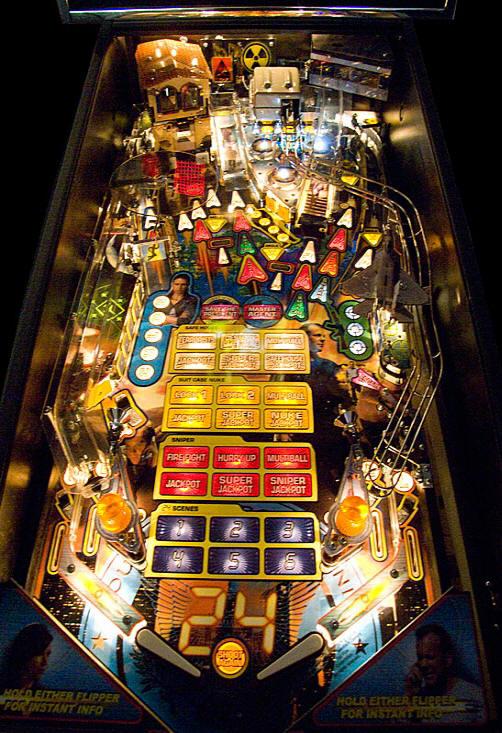 OneManSam » Anatomy of a Good Pinball Table |Pinball Top View