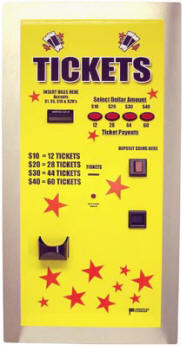 AC105 Ticket Dispenser | By American Changer Corporation