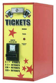 AC111 Ticket Dispenser | By American Changer Corporation