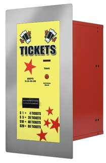 AC125 Ticket Dispenser | By American Changer Corporation