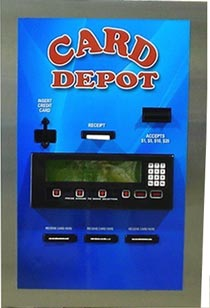 AC2227 Prepaid Debit Credit Card Dispenser By American Changer Corporation