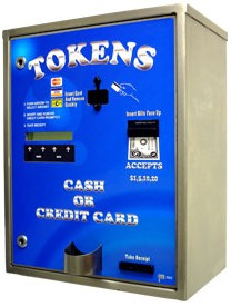 AC8007 Credit Card Token Dispenser Changer By American Changer Corporation