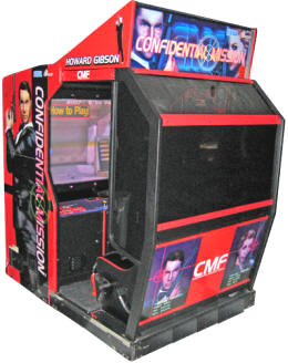 Confidential Mission Deluxe Model Video Arcade Game