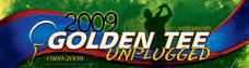 Golden Tee Golf 2009 Unplugged Logo