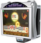 Megatouch Entertainer / Megatouch Wallette Wall Mount Touchscreen Countertop Bar Video GameVideo Game From Merit Megatouch / AMI