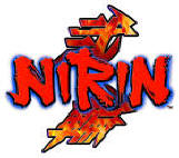 Nirin Superbike Motorcycle Racing Video Arcade Game Logo