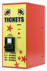 AC 115 Ticket Dispenser | By American Changer Corporation