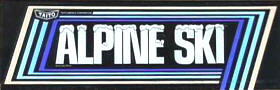 Alpine Ski Video Game - Taito 1981