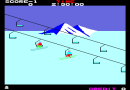 Alpine Ski  Video Arcade Game Screenshot