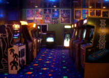 Home Gameroom / Family Game Room Arcade Designing