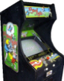 10-Yard Fight Video Arcade Game | Cabinet