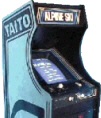Alpine Ski Video Arcade Game | Cabinet