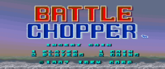 Battel Chopper Arcade Games For Sale