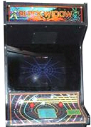 Black Widow Video Arcade Game | Cabinet