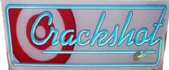 Crackshot Arcade Games For Sale