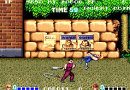 Double Dragon Video Arcade Game Screenshot
