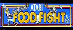 Atari Food Fight Arcade Games For Sale