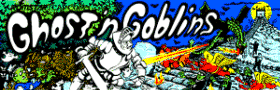 Ghosts N Goblins Video Arcade Games For Sale
