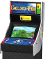 Golden Tee Golf 2001 Video Arcade Game | Cabinet