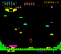 Lunar Rescue Video Arcade Game Screenshot