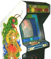 Millipede Video Arcade Game | Cabinet