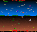 Minefield Video Arcade Game Screenshot