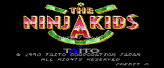 Ninja Kids Arcade Games For Sale