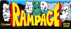 Rampage Arcade Games For Sale