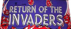 Return Of The Invaders Arcade Games For Sale