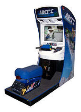 Arctic Thunder Standard Model Video Arcade Game
