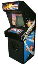 Asteroids Video Arcade Game Cabinet, Midway Manufacturing, circa 1978