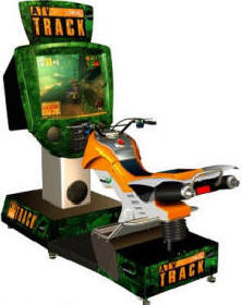 ATV Track Video Arcade Game