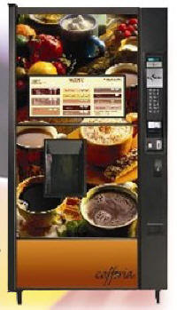 Cafforia Coffee Vending Machine By Automatic Products From BMI Gaming