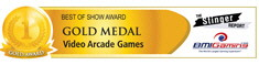 BMI Gaming / TSR Best Of Show - Gold Medal - Video Arcade Games - IAAPA 2011