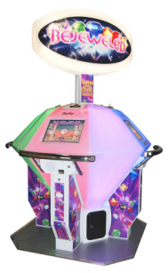 Bejeweled Ticket Redemption Video Game  - IAAPA 2011 Best Of Show Awards - Honorable Mention