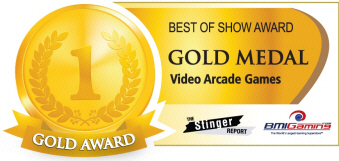 Gold Medal Award  - Video Arcade Games  :  Best Of Show Arcade Machine Awards / BOSA 2014