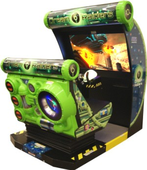Dream Raiders Motion Simulator Video Arcade Game From Sega
