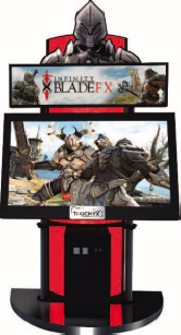 Infinity Blasde FX Video Arcade Game -  Video Arcade Game - IAAPA 2011 Best Of Show Awards - Honorable Mention