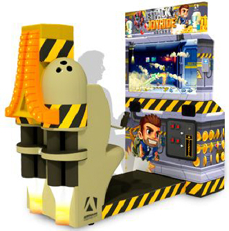 Jetpack Joyride Arcade Videmption Arcade Game - Barron Games