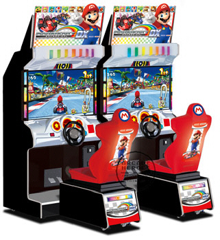 Mario Kart Arcade GP DX Video Arcade Game From Namco Bandai Games