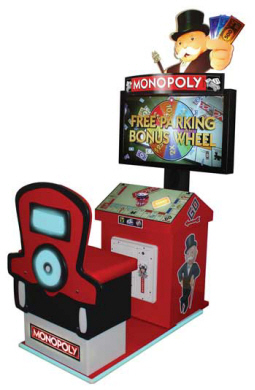 Monopoly Arcade Videmption Arcade Games From Innovative Concepts In Entertainment